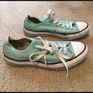Mint Green Converse All Stars